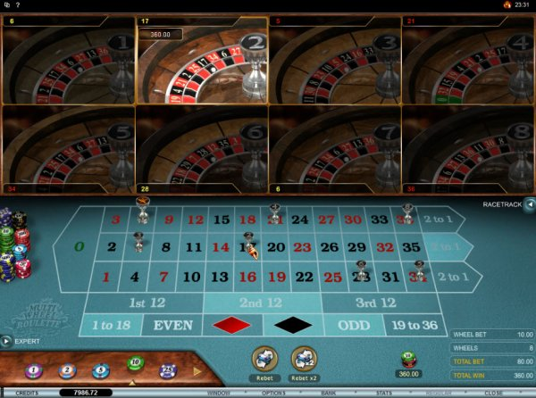 Multiwheel roulette bets online - 345574