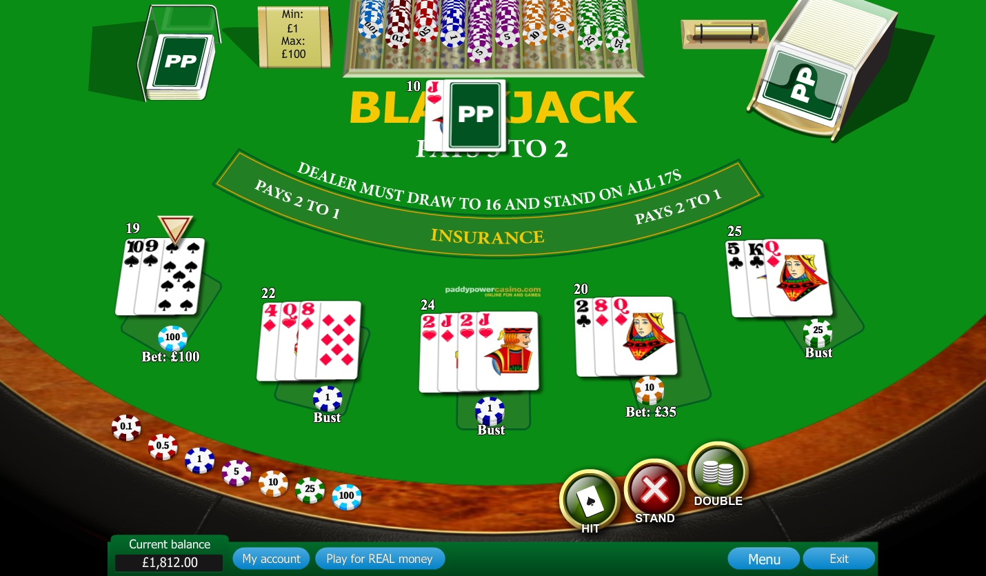 Cassino virtual gratis paddy power - 677886