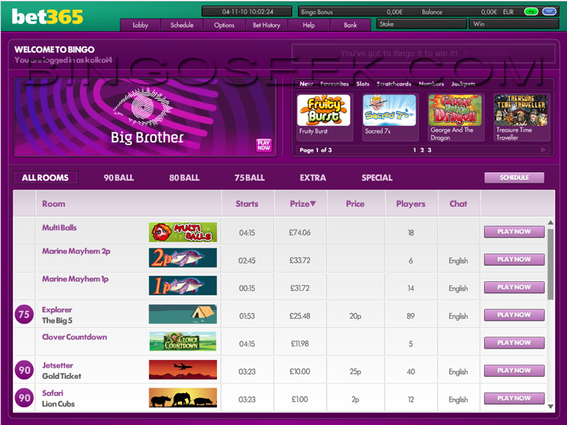 Bet sites bingo 3 - 687775