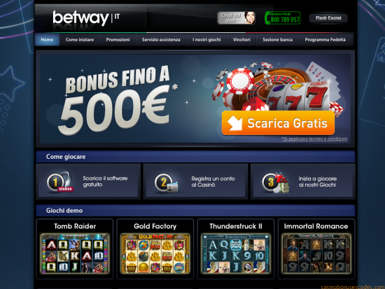 Bet way casino betmotion bonus - 421438