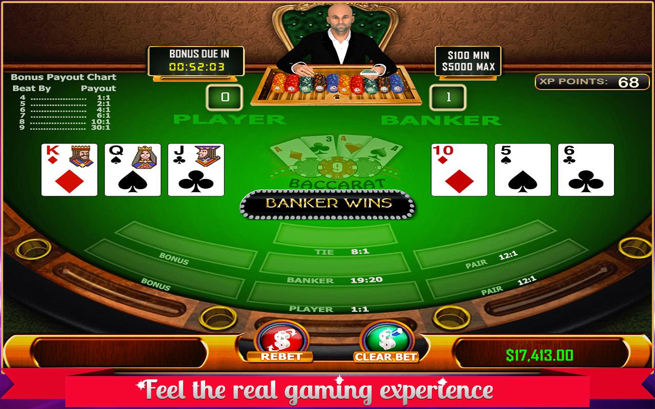 Casino games baccarat gold - 529852