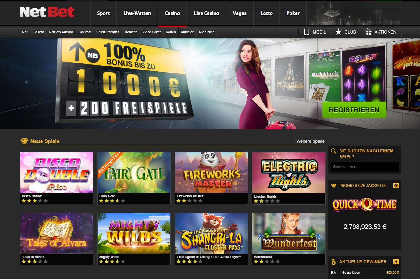 Casinos leander games netbet tv - 344387