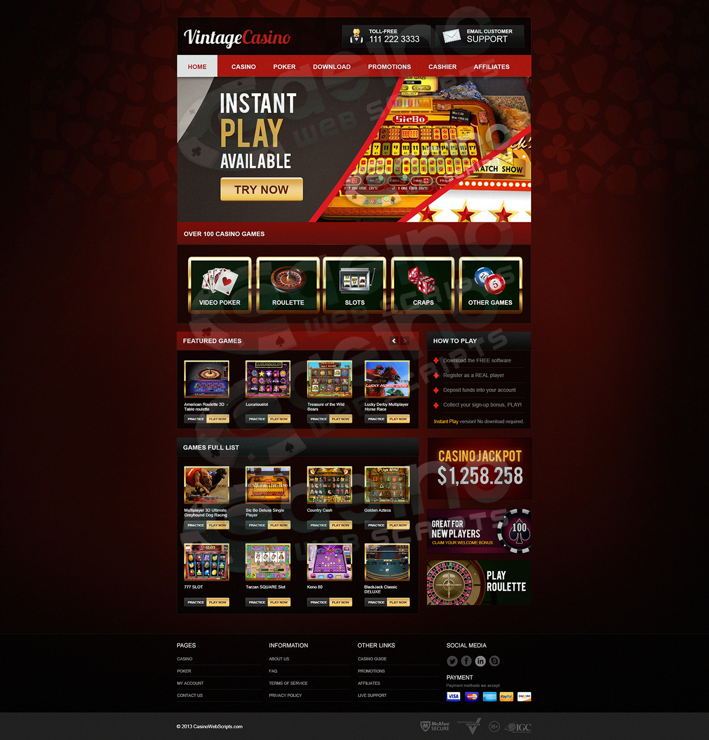 Casinos saucify Noruega casino web scripts - 779924