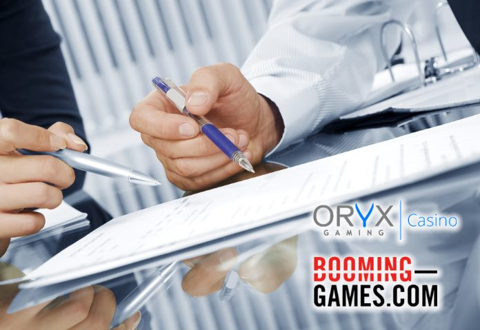 Oryx gaming casinos geco - 162727