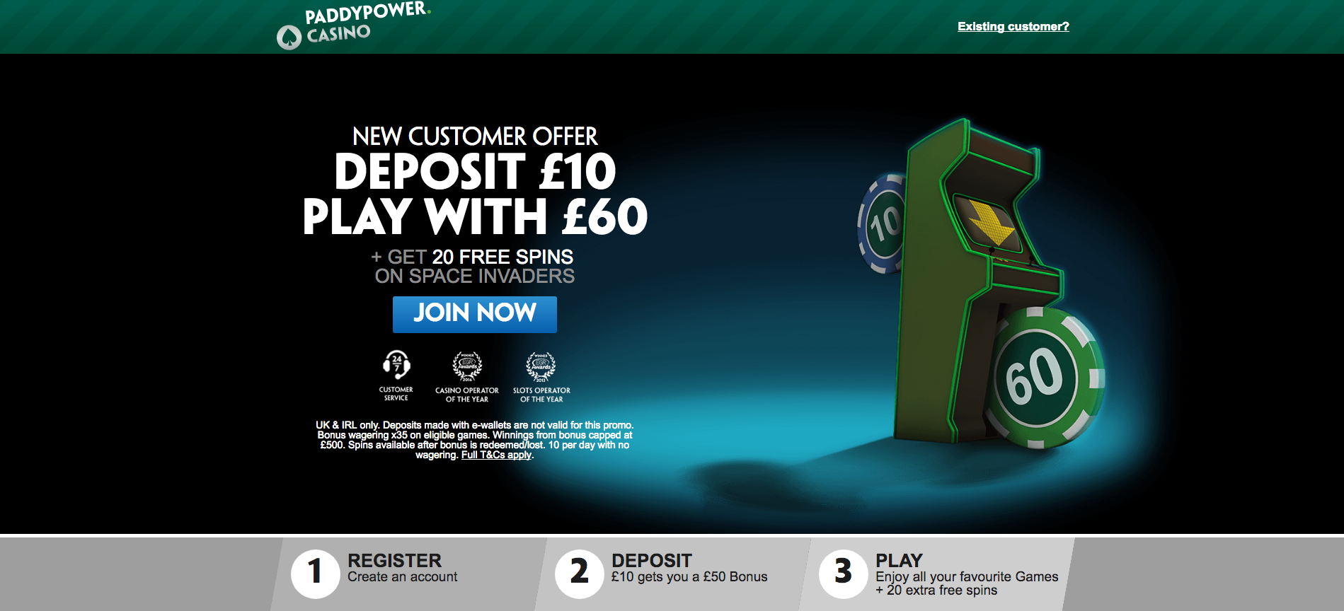 Paddy power cassinos online - 894616