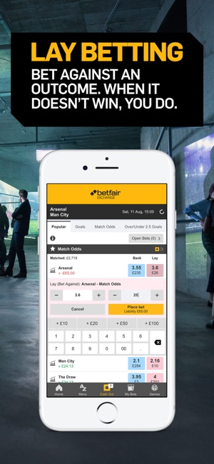 Rivalo app betfair lay - 186411