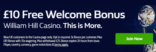 William hill radar playbonds bonus - 801623